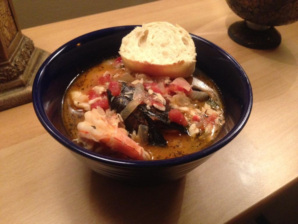 cioppino seafood soup